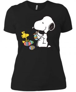 Peanuts Snoopy Easter Egg Women's T-Shirt