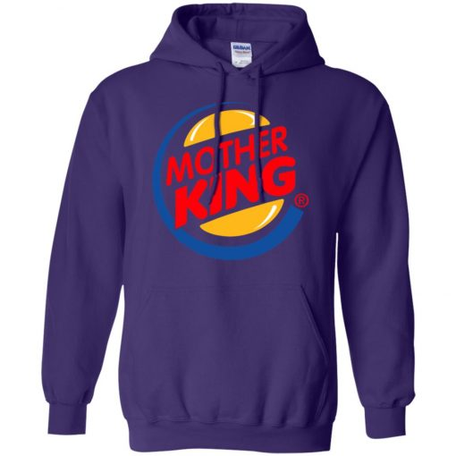 Burger King For Mother Pullover Hoodie