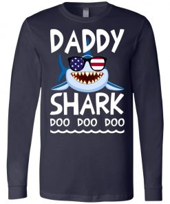 American Daddy Shark Doo Doo Doo Long Sleeve