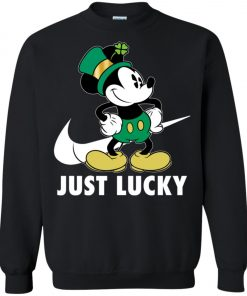 St Patrick Day Irish Mickey Sweatshirt