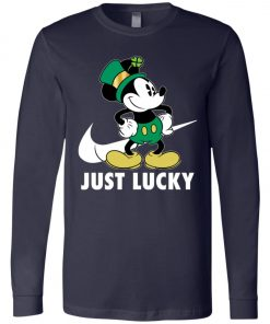 St Patrick Day Irish Mickey Long Sleeve