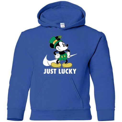 St Patrick Day Irish Mickey Youth Hoodie