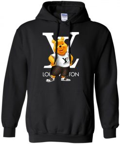 Winnie The Pooh Louis Vuitton Pullover Hoodie