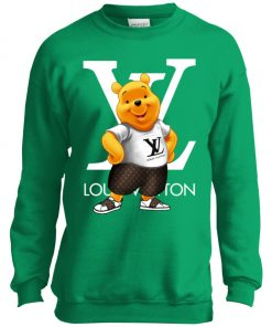 Winnie The Pooh Louis Vuitton Youth Sweatshirt