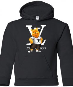 Winnie The Pooh Louis Vuitton Youth Hoodie