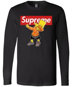 Bart Simpson Dabbing Supreme Long Sleeve