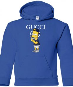 Gucci Bart Simpson Yeezy Youth Hoodie