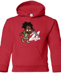 21 Savage Bart Simpson Youth Hoodie