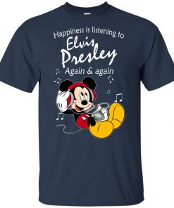 Mickey Listens To Elvis Presley Youth T-Shirt