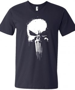 Marvel Punisher V-Neck T-Shirt