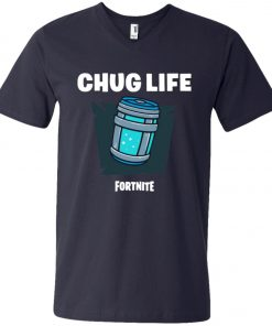 Chug Life Fortnite V-Neck T-Shirt