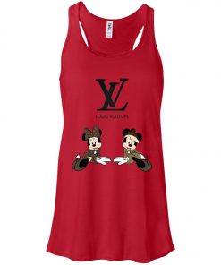 Louis Vuitton Mickey And Minnie Women's Tank Top