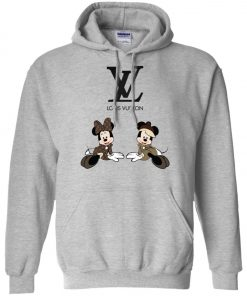 Louis Vuitton Mickey And Minnie Pullover Hoodie