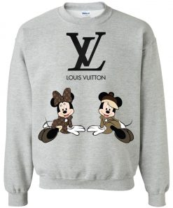 Louis Vuitton Mickey And Minnie Sweatshirt