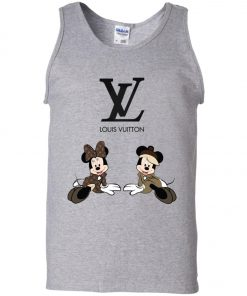 Louis Vuitton Mickey And Minnie Tank Top