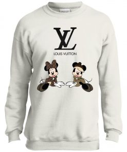 Louis Vuitton Mickey And Minnie Youth Sweatshirt