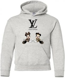 Louis Vuitton Mickey And Minnie Youth Hoodie
