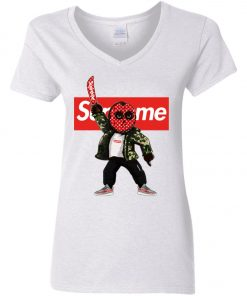 Supreme Jason Voorhees Women's V-Neck T-Shirt