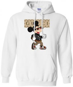 Stylist Gucci Mickey Mouse Pullover Hoodie