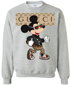 Stylist Gucci Mickey Mouse Sweatshirt