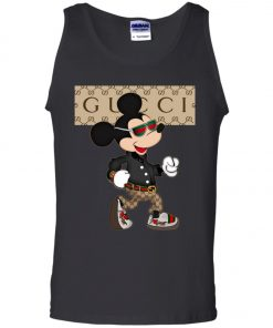 Stylist Gucci Mickey Mouse Tank Top
