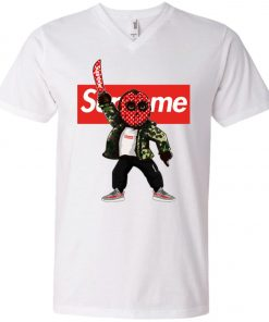 Supreme Jason Voorhees V-Neck T-Shirt