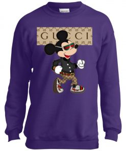 Stylist Gucci Mickey Mouse Youth Sweatshirt