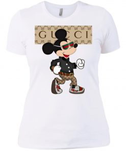 Stylist Gucci Mickey Mouse Women's T-Shirt