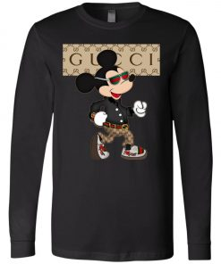Stylist Gucci Mickey Mouse Long Sleeve