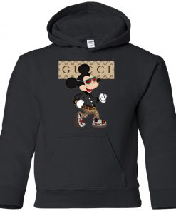 Stylist Gucci Mickey Mouse Youth Hoodie