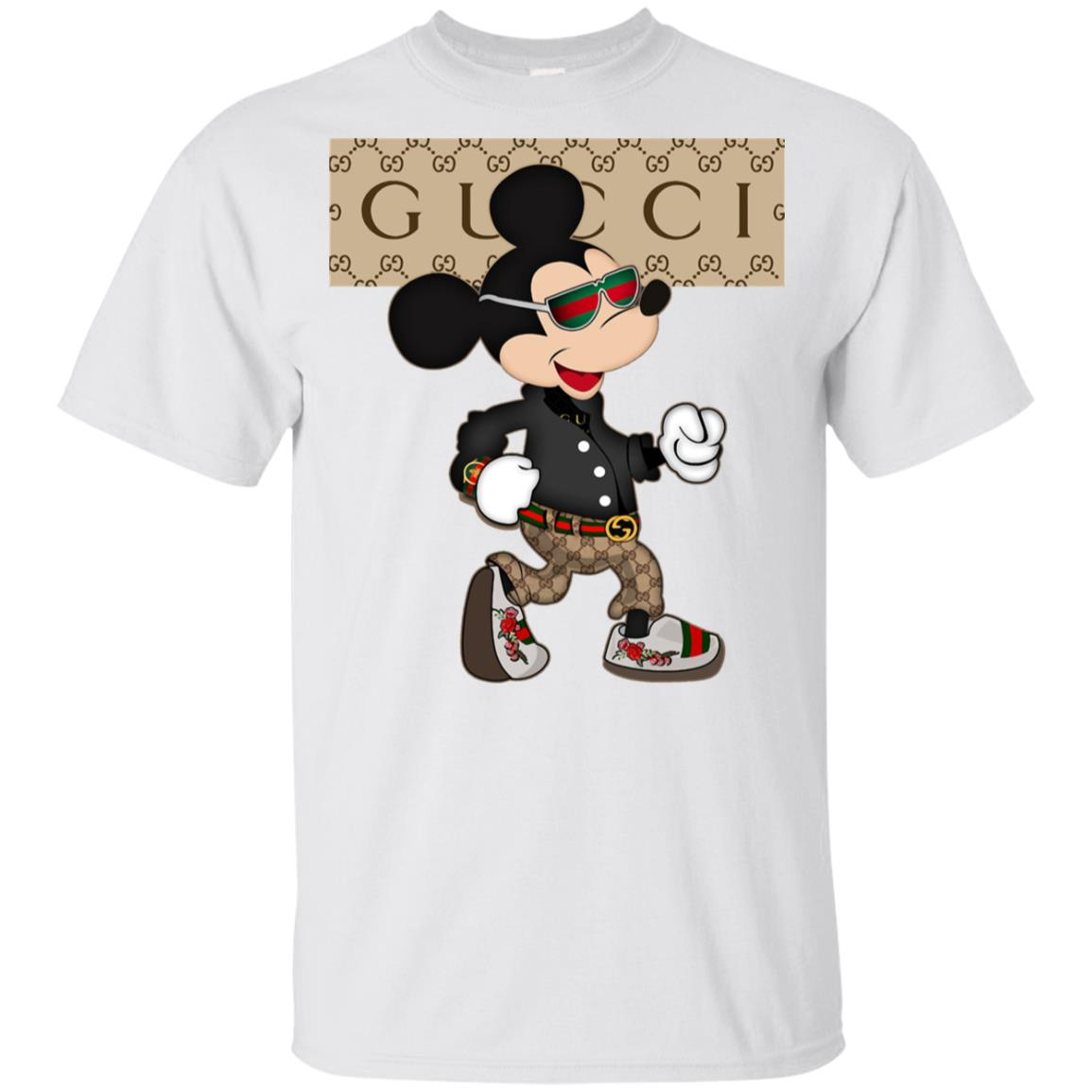 Stylist Gucci Mickey Mouse Youth T,Shirt