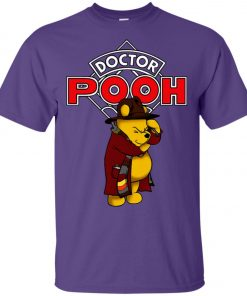 Disney Pooh Doctor Who Unisex T-Shirt