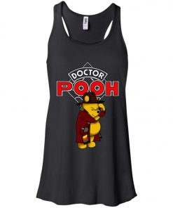 Disney Pooh Doctor Who Women's Tank Top