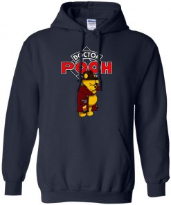 Disney Pooh Doctor Who Pullover Hoodie