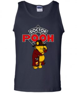 Disney Pooh Doctor Who Tank Top