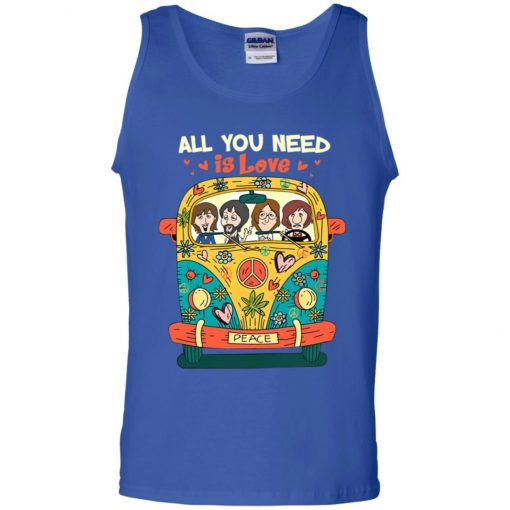 All You Need Is Love The Beatles Tank Top