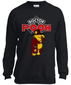 Disney Pooh Doctor Who Youth Sweatshirt