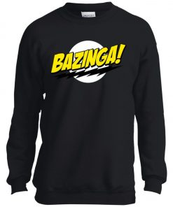 Bazinga Big Bang Theory Youth Sweatshirt