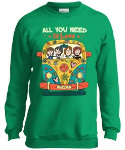 All You Need Is Love The Beatles Youth Sweatshirt