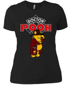 Disney Pooh Doctor Who Women's T-Shirt