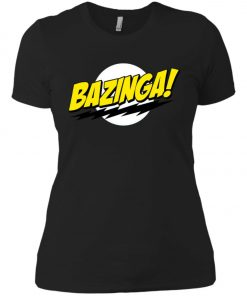 Bazinga Big Bang Theory Women's T-Shirt