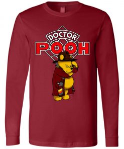 Disney Pooh Doctor Who Long Sleeve