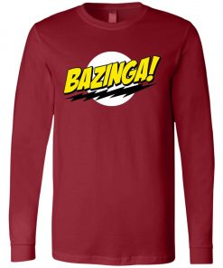 Bazinga Big Bang Theory Long Sleeve