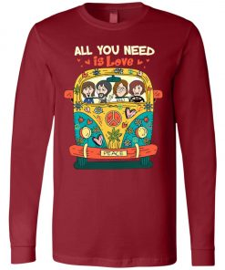 All You Need Is Love The Beatles Long Sleeve