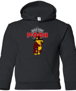 Disney Pooh Doctor Who Youth Hoodie