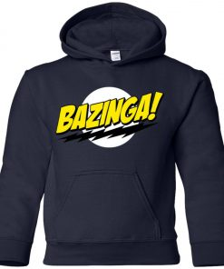 Bazinga Big Bang Theory Youth Hoodie