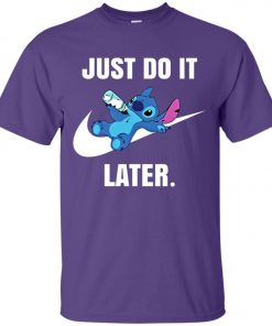 Just Do It Later Disney Stitch Unisex T-Shirt