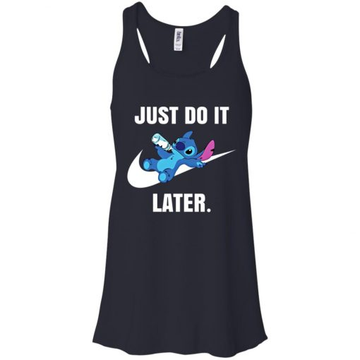 Just Do It Later Disney Stitch Women's Tank Top