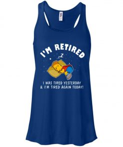 Lazy Boy Bart Simpson Women's Tank Top