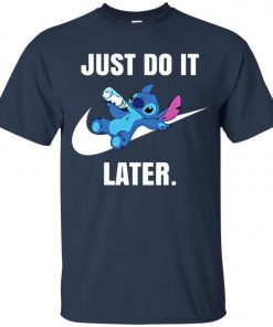 Just Do It Later Disney Stitch Youth T-Shirt